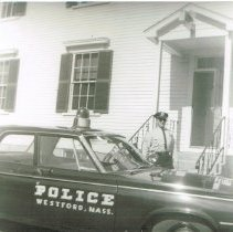 Image of Sgt. Sullivan, police car 1964-65