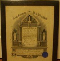 Image of W.2013.27.2 - Certificate, Membership