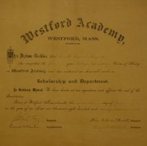 Image of W.2014.27.1 - Diploma