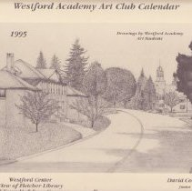 Image of 1995 WA  Art Club Calendar