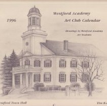 Image of 1996 WA Art Club Calendar