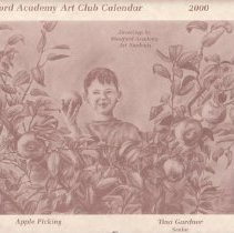 Image of 2000 WA Art Club Calendar
