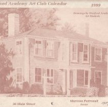 Image of 1999 WA Art Club Calendar