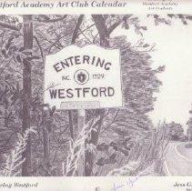 Image of 2003 Art Club Calendar
