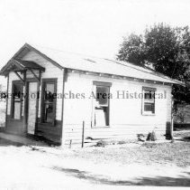 Image of City Hall prior to restoration in Jarboe Park - Neptune Beach, Florida 1976