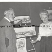 Image of Walter Murr and Jean McCormick at Beaches Centennial Commission Press Party - Beaches Centennial Commission press party, Sawgrass Golf Club.  Walter Murr and Jean H. McCormick (Mrs. J.T.)