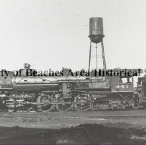 """Image of Engine #441 - Florida East Coast Railway - Engine #441 -  Florida East Coast Railway Built by American Locomotive Works in Schenectady, NY in October 1925.  Serial No. 65172.  This mountain type 4-8-2 locomotive had 26"""" x 28"""" cylinders and 73"""" drivers.  It weighed 318,000 lbs. and had 44,000 lbs. of  tractive effort.  The locomotives of this type handled the bulk of the passenger trains on the FEC such as the Florida Special, The Gulf Stream and the Royal Poinciana.  These locomotives remained in service until the onset of the diesels."""