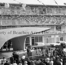 Image of Opening of the Holiday Inn North First Street - Jacksonville Beach, Florida    Opening of the Holiday Inn, 1615 North First Street.