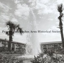 Image of The Fountains Development - Ponte Vedra Beach, Florida  The Fountains Development with fountain in courtyard