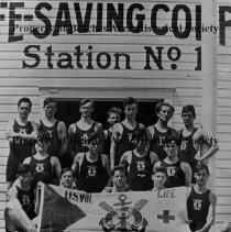 Image of Life Saving Corps Station 1 - Jacksonville Beach, Florida - 1913 Life Saving Corps  Station 1