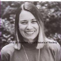 "Image of Susan Milbrath - Susan Milbrath ( Mrs. Mark Brenner) January 23, 1992 Speaker for B.A.H.S. "" 16th Century European Images in North America"", at the Ponte Vedra Inn."