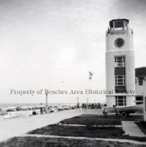 Image of Life Saving Station - Jacksonville Beach, Florida - No Date Life Saving Station