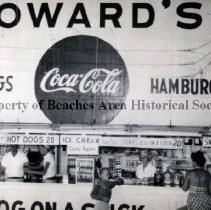 Image of Howard's Refreshment Stand - Jacksonville Beach, Florida Howard's Refreshment Stand