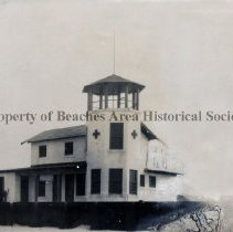 Image of Second Red Cross Life Saving Station, 1921 - Pablo Beach, Florida, 1921