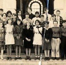 Image of School #50  Class Photo, c. 1930 - Jacksonville Beach, Florida   Class photo - c. 1930 School #50