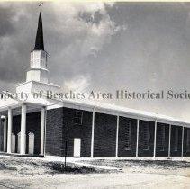 Image of Neptune Baptist Church - Neptune Beach, Florida Neptune Baptist Church facing Third Street N.
