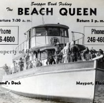 "Image of Fishing Boat ""The Beach Queen"" - Mayport, Florida