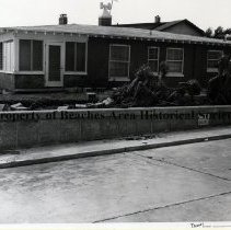 Image of Hurricane Dora Damage to Jacksonville Beach