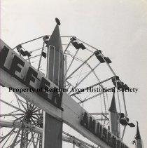 Image of Griffen Amusement Park/Ferris Wheel - Jacksonville Beach Boardwalk Griffen Amusement Park Ferris Wheel