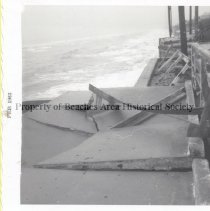 Image of Nor'Easter Damage at Sea Turtle Inn - Feb 1963