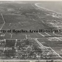 Image of Aerial view Jacksonville Beach