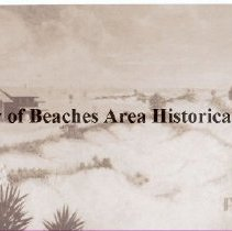 Image of Ponte Vedra Inn with sand dunes - Ponte Vedra Beach, Florida Ponte Vedra Inn with sand dunes This might have been a post card