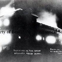 Image of Burning of Atlantic Bch Hotel