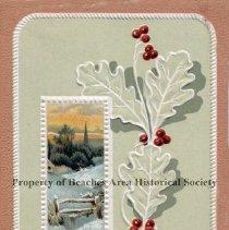 Image of Merry Christmas  Postcard - A Merry Christmas Postcard , 1910