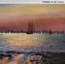 Image of Twilight on the Ocean, Jacksonville Beach, Fla. - Twilight on the Ocean, Jacksonville Beach, Fla.