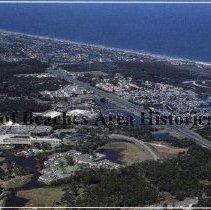Image of Greetings from  Ponte Vedra Beach, Florida  - Souvenir Card   Aerial Photo of  Ponte Vedra Beach, Florida