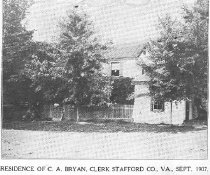 Image of Home of C. A. Bryan, Stafford County, VA