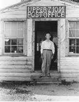 Image of Frank M. Houston, postmaster