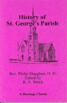 Image of 975.5366 BRO - History of St. George's Parish in the County of Spotsylvania and Diocese of Virginia