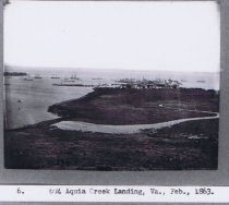 Image of Aquia Creek 1863