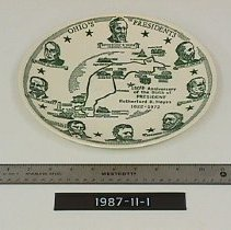Image of Plate, Commemorative -