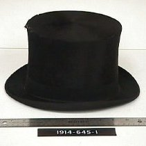 Image of Hat, Top - Stove Pipe Hat/Topper