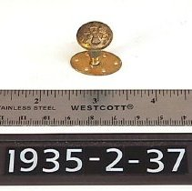 Image of Button, Military - Uniform/Military Button