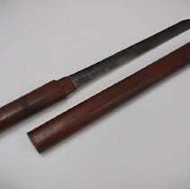Image of sword and scabbard together