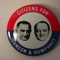 Image of Button, Political - Campaign Button