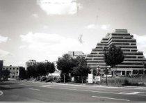 Image of Hampden Square - Description: Black and White snapshot c. 1998.