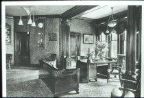 Image of National Park Seminary - President's House - Description: Office - 1929.