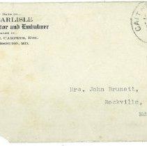 Image of envelope, 1915