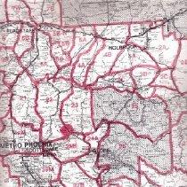 Image of Hunting boundaries Arizona - Map