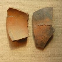 Image of Potsherd - Wingfield Collection