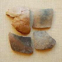 Image of Potsherds - Wingfield Collection