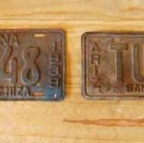 Image of License plates -