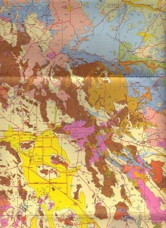 Geologic Map Of Arizona.Arizona Highway Geologic Map Map