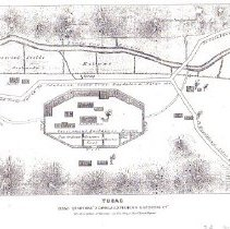 Image of  Head Quarters of Sonora Exporing & Mining Co. - Map