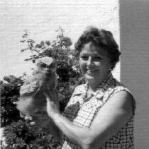 Image of Tubac potter, Maxine Guy - Kinsley Arcadia Photo Collection