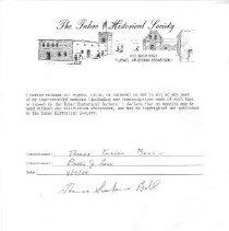 Image of Bell, Thomas Graham and Gail - Oral History